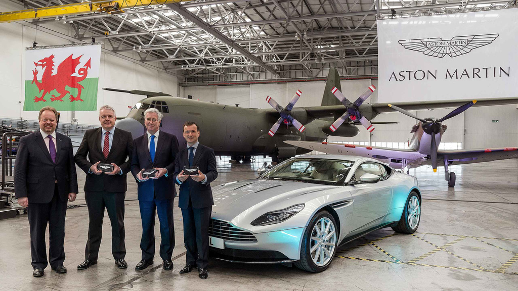 Aston Martin St Athan factory enters Phase 2