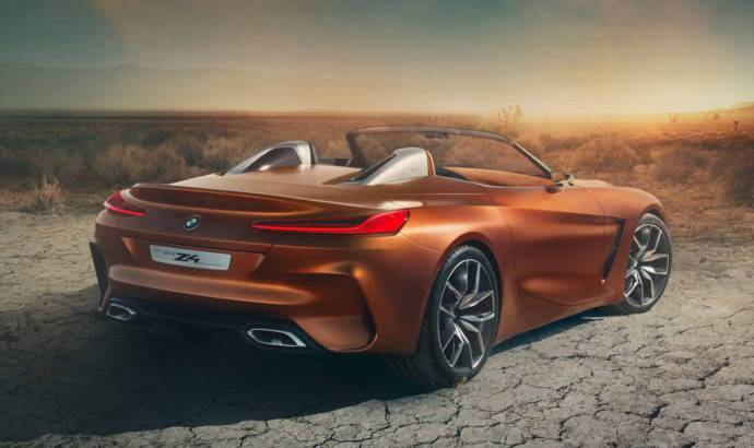 BMW Z4 Concept - First official video
