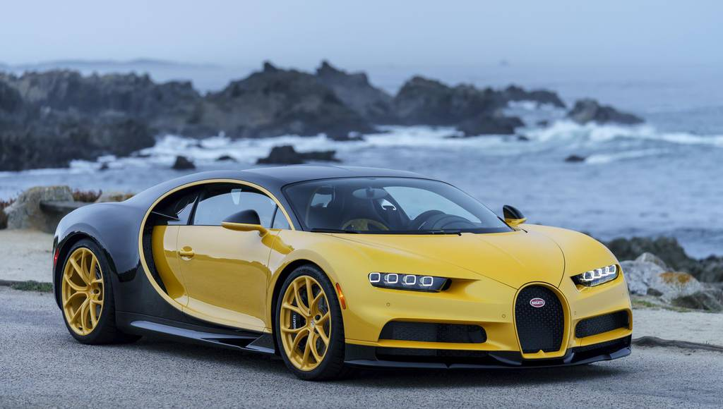 Bugatti Chiron reaches its first US client