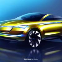 European premiere - Skoda Vision E will come to Frankfurt