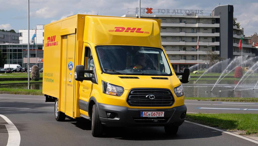 Ford unveils the StreeScooter WORK XL van for DHL
