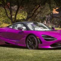 Fux Fuchsia McLaren 720S presented in Pebble Beach
