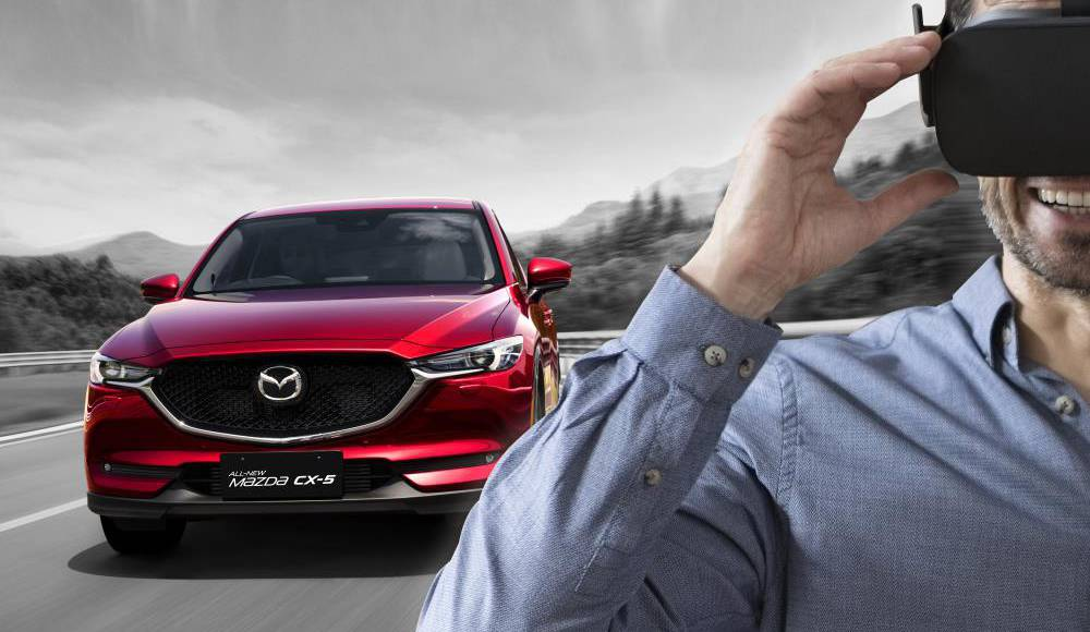 Mazda CX-5 brings virtual reality in showrooms