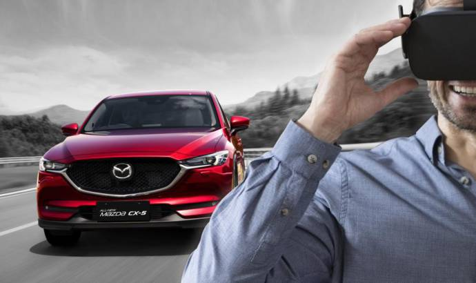 Mazda CX-5 brings virtual reality in showrooms