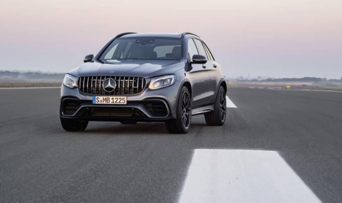 Mercedes-AMG GLC 63 and GLC 63 S UK pricing announced