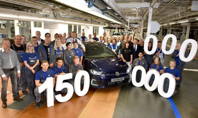 Party in Germany - 150 millionth Volkswagen leaves plant in Wolfsburg