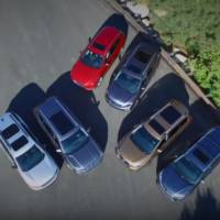 SUV comparison - GMC Acadia, VW Atlas, Mazda CX-9, Nissan Pathfinder, Honda Pilot and Toyota Highlander in the same video