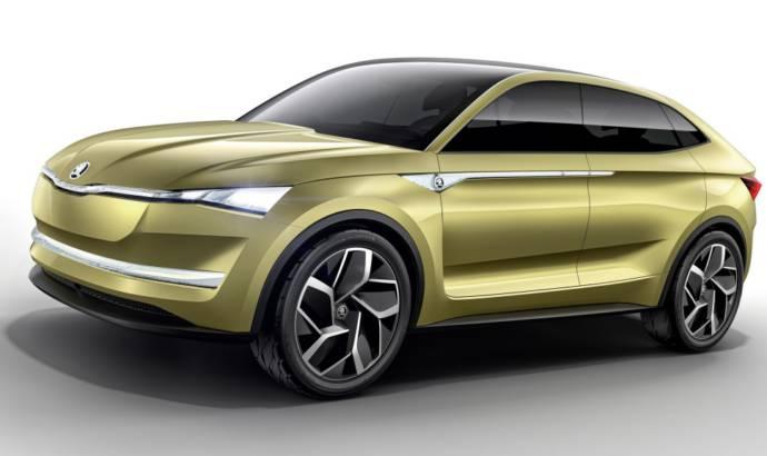 Skoda EV plans: a hatchback, a coupe-SUV and a sports car