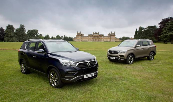 SsangYong Rexton 4x4 UK pricing announced