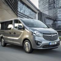 Vauxhall Vivaro Tourer Elite and Combi Plus unveiled