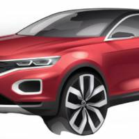 Volkswagen T-Roc: new teaser images unveiled