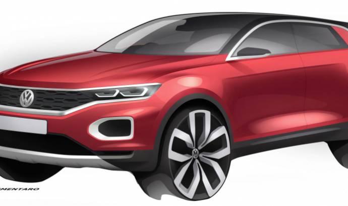 Volkswagen T-Roc: new teaser images unveiled