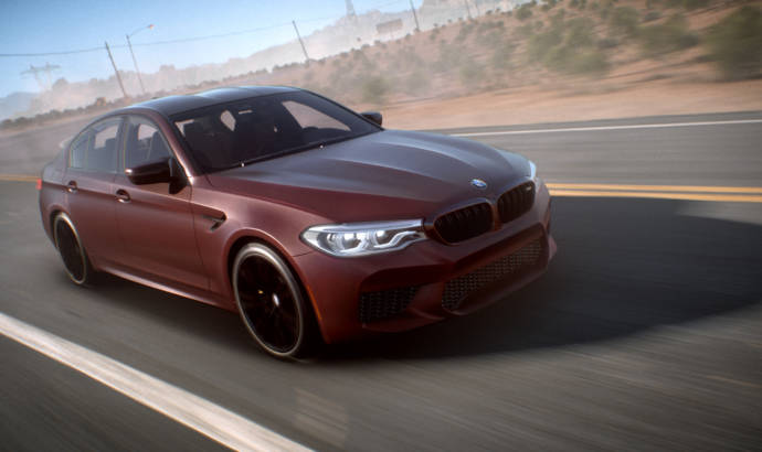 Need for Speed Payback - The new BMW M5 is the star