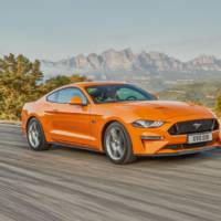 2018 Ford Mustang Euro-spec - Official pictures and details