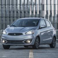 2018 Mitsubishi Mirage updated in US