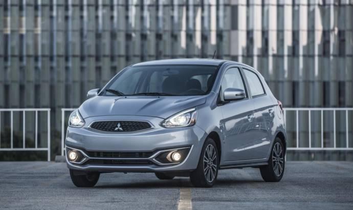 2018 Mitsubishi Mirage updated in US