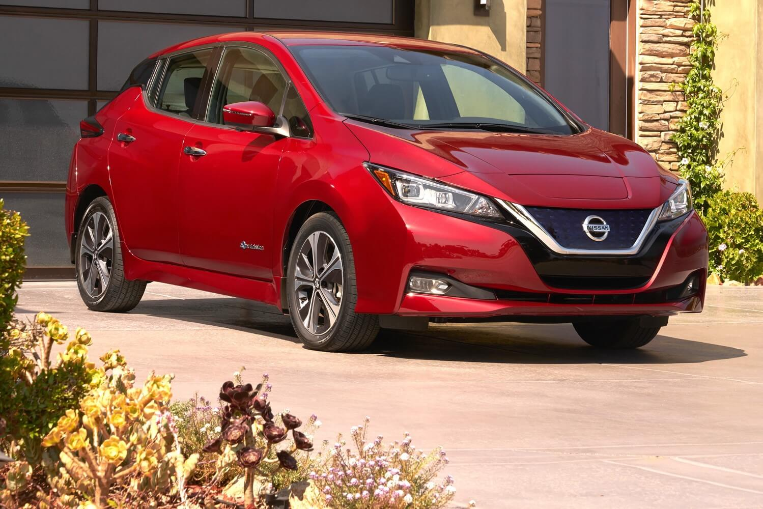 2018 Nissan Leaf electric vehicle tech review