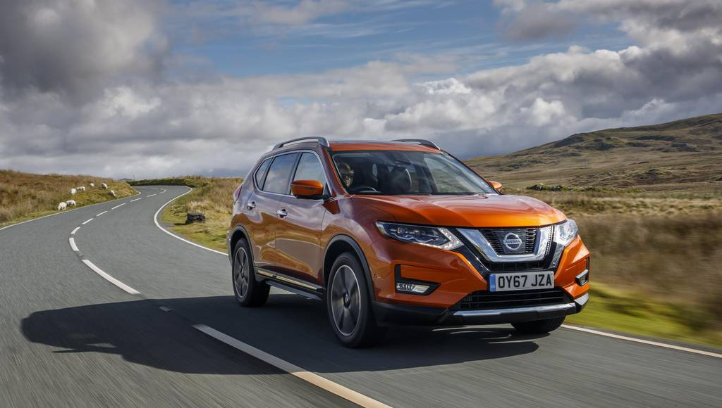 2018 Nissan X-Trail facelift gets detailed
