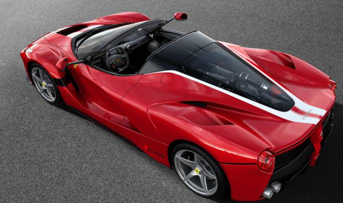 A unique Ferrari LaFerrari Aperta on auction to benefit Save the Children