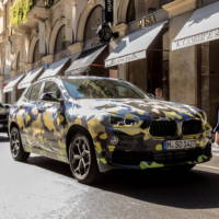 BMW X2 shines in Milano
