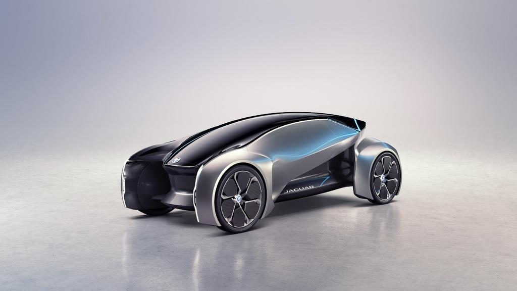 Jaguar Future-Type Concept is a fully autonomous car