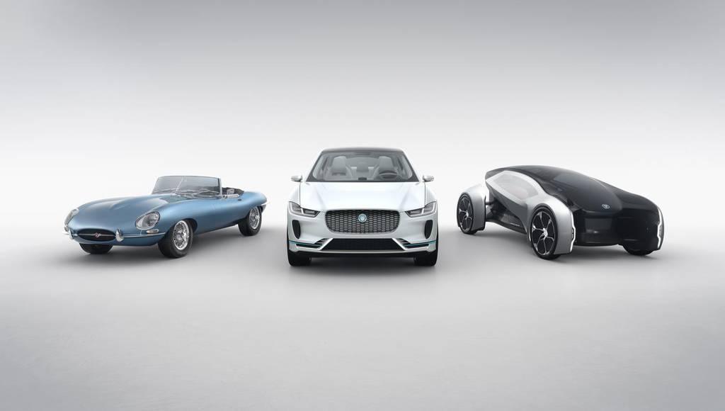 Jaguar announcing massive electrification starting 2020