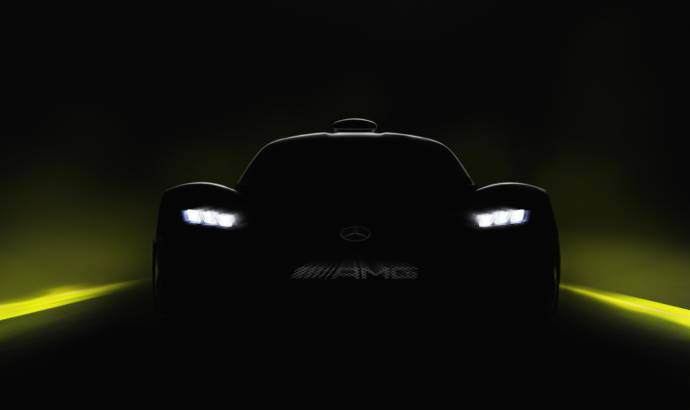 Mercedes-AMG Project One - a new teaser picture
