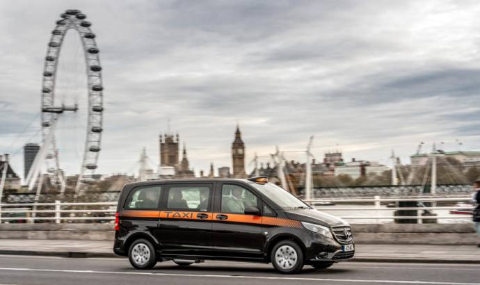 Mercedes-Benz Vito Taxi becoming popular in London