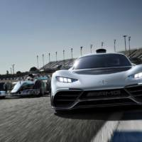 Mercedes-Benz unveiled the mighty Mercedes-AMG Project One