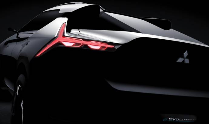 Mitsubishi e-Volution concept expected in Tokyo Motor Show