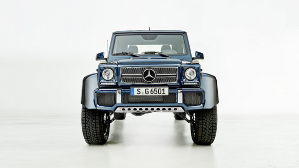 The last Mercedes-Maybach G650 Landaulet will go under the hammer
