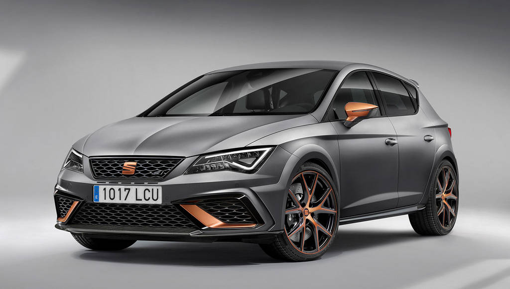 This is the new Seat Leon Cupra R. It has 310 horsepower