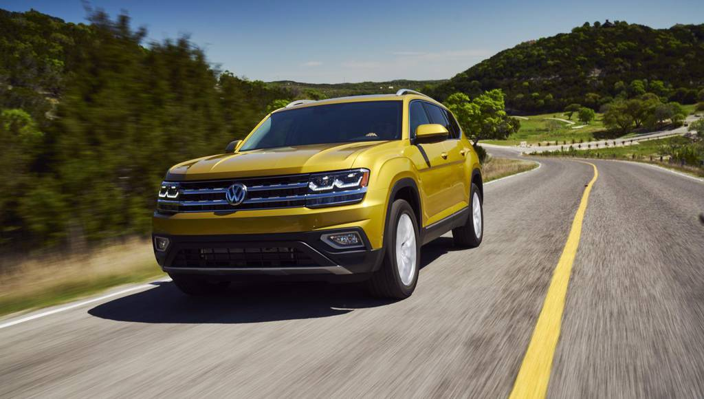 Volkswagen Atlas receives top score from NHTSA