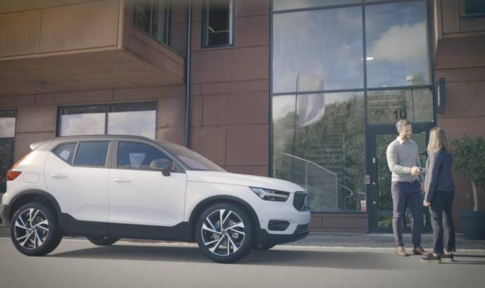 Volvo XC40, the first car to offer Care by Volvo program