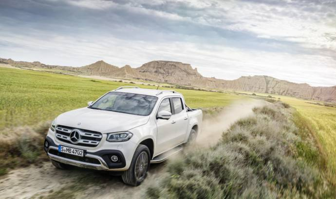 2017 Mercedes X-Class UK pricing announced