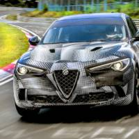 Alfa Romeo Stelvio Quadrifoglio is the fastest production SUV around Nurburgring
