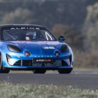 Alpine A110 Cup - official pictures and details