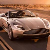 Aston Martin DB11 Volante is here