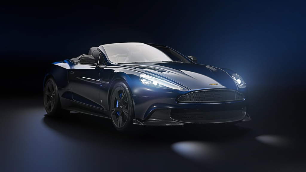 Aston Martin unveils the Volante Tom Brady Signature Edition