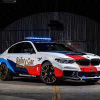 BMW revealed the 2018 M5 MotoGP Safety Car