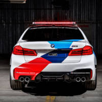 BMW revealed the 2018 M5 MotoGP Safety Car