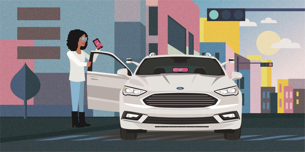 Ford and Lyft join forces for autonomous driving