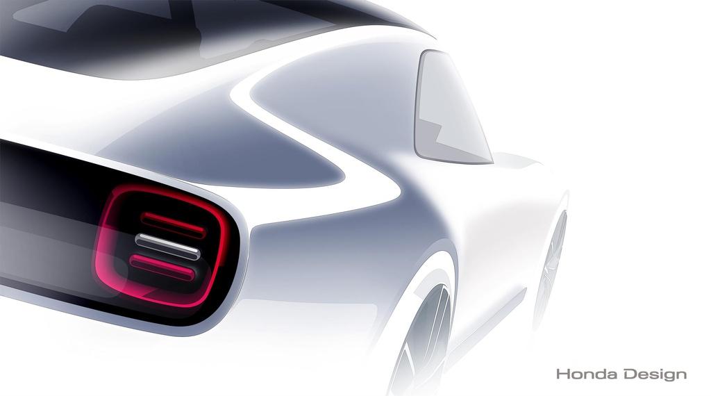 Honda Sports EV Concept teased ahead of Tokyo Motor Show