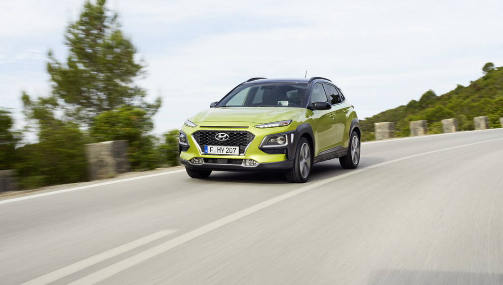 Hyundai Kona is ready for the UK. Pricing starts at 16.195 Pounds