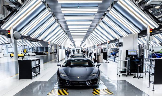 Lamborghini expands its SantAgata Bolognese factory