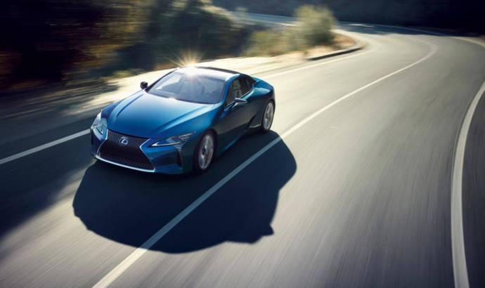 Lexus LC500 gets Structural Blue body paint