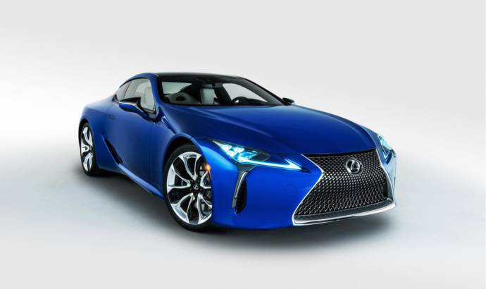 Limited edition 2018 Lexus LC Inspiration Series launched