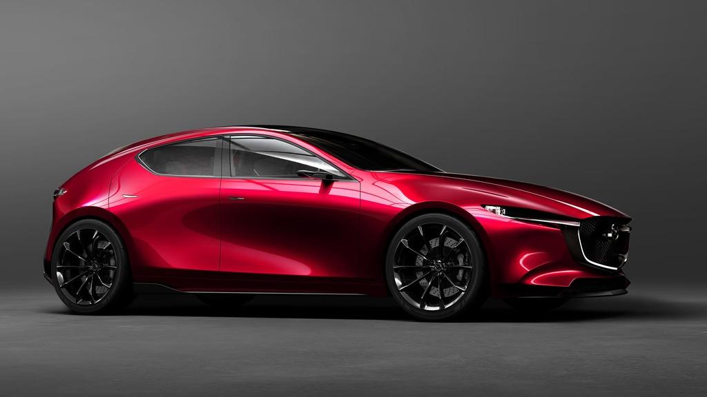 Mazda Kai unveiled in Tokyo Motor Show