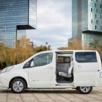 Nissan e-NV200 electric van officially unveiled