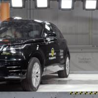 Range Rover Velar awarded five stars by EuroNCAP